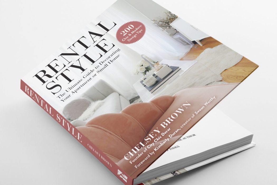 Rental Style is the Must-Have Book for Renters and Small-Space Dwellers!