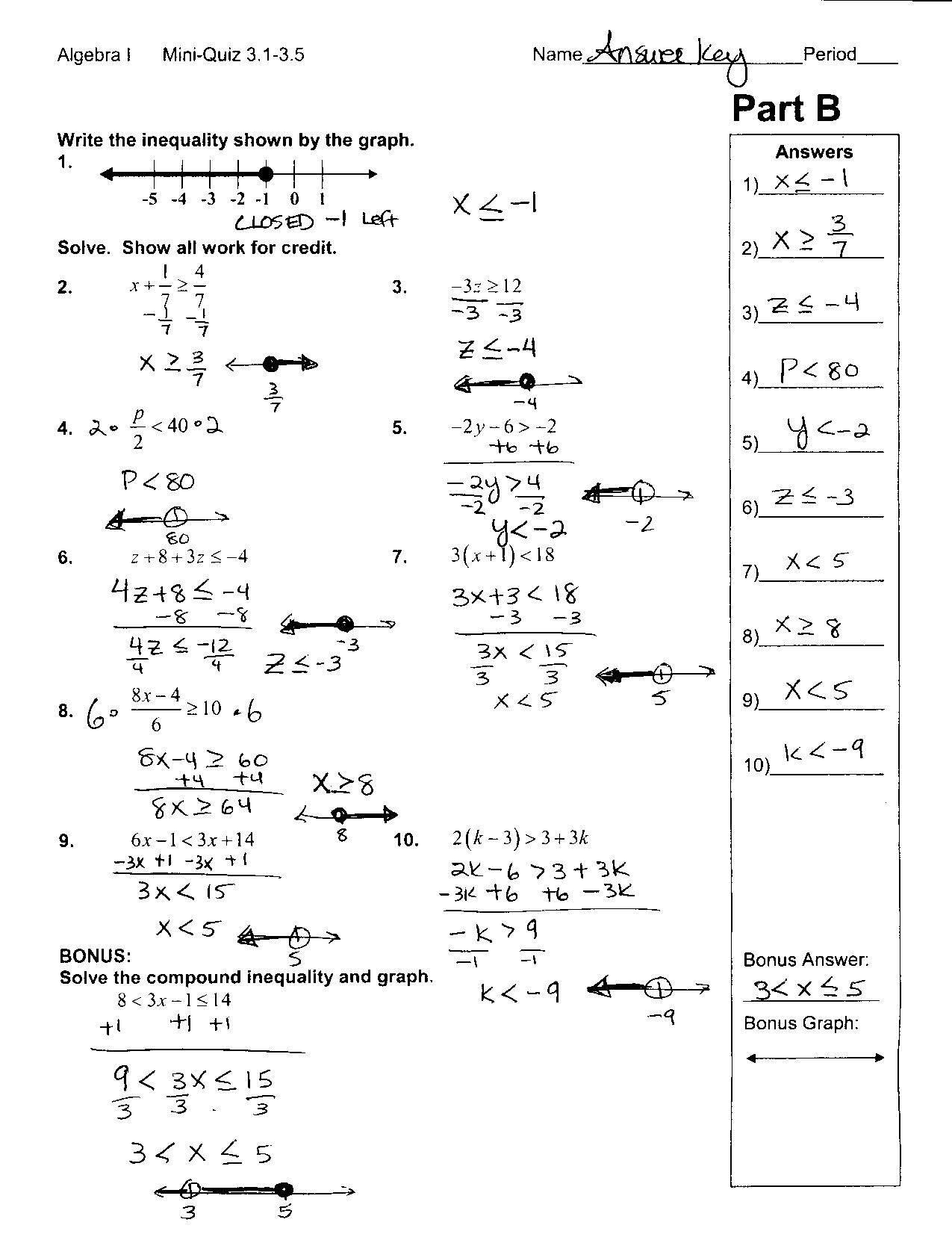 3rd Grade Math Addition Worksheet Answer Key