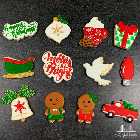 Modern Christmas Cookie Collection