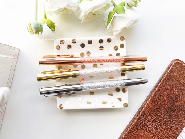 Diamond Filled Ballpoint Pens