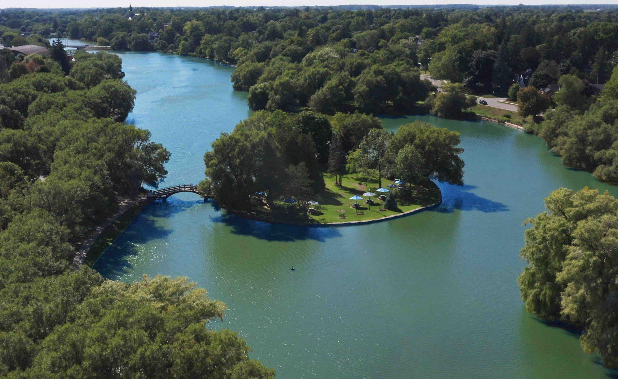 Stratford Avon River Blue