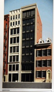 Rendering of proposed building at 27 East 4th Street. Image Courtesy: SRA Architecture and Engineering.