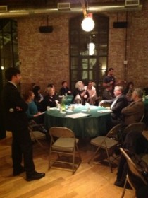 February 26, 2013 meeting of food manufacturers. Image Courtesy: Brooklyn Chamber of Commerce.