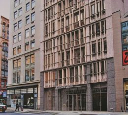 LPC approved rendering of the proposed development at 688 Broadway in the NoHo Historic District. Image Credit: BKSK Architects
