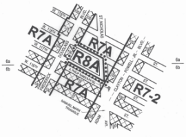 Map of Approved Central Harlem Rezoning. Image Credit: CPC.
