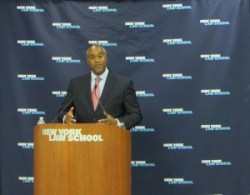 U.S. Attorney Robert Capers speaking at the 133rd CityLaw Breakfast. Image credit: CityLaw