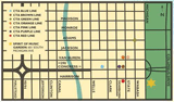 Chicago SummerDance Map