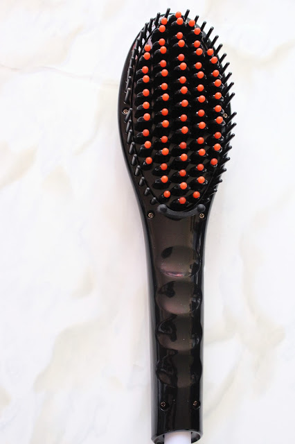 LCD Hair Straightener Brush Review| City of Creative Dreams