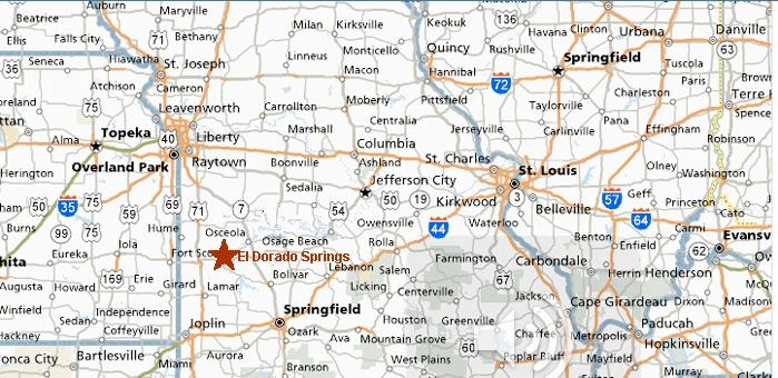 Map Kansas City Mo Area