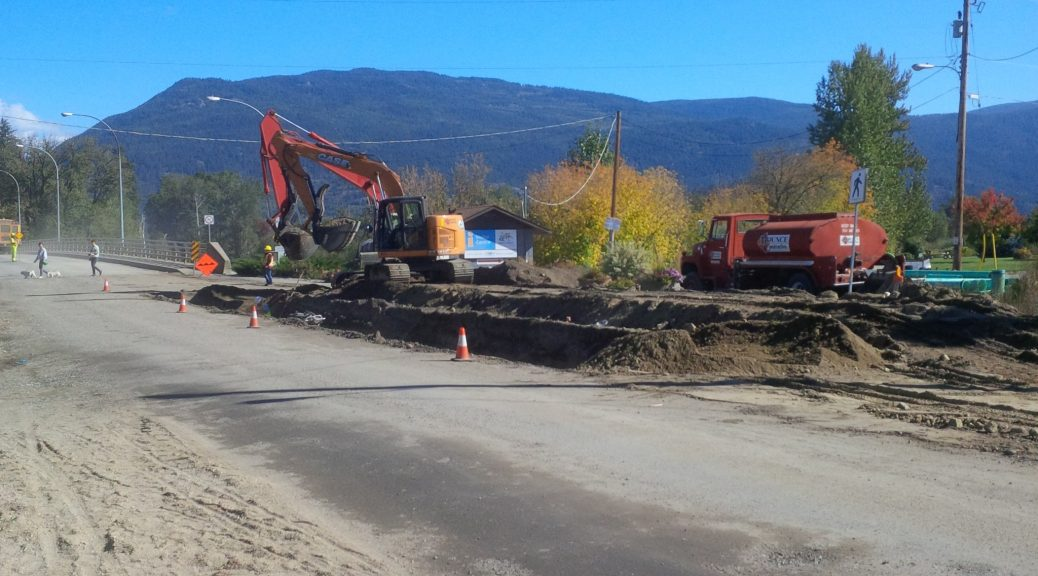 City of Enderby     Cliff Avenue Construction Schedule Cliff Avenue Construction Schedule
