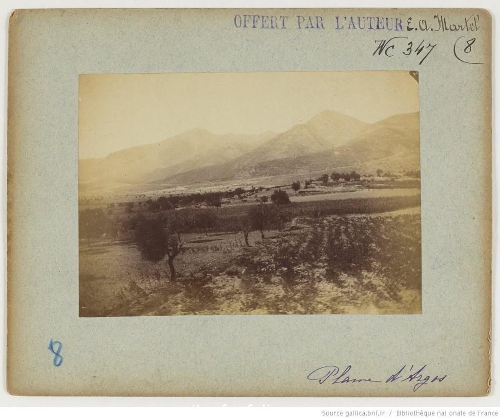 Plaine d'Argos_Martel Édouard-Alfred_1892_1