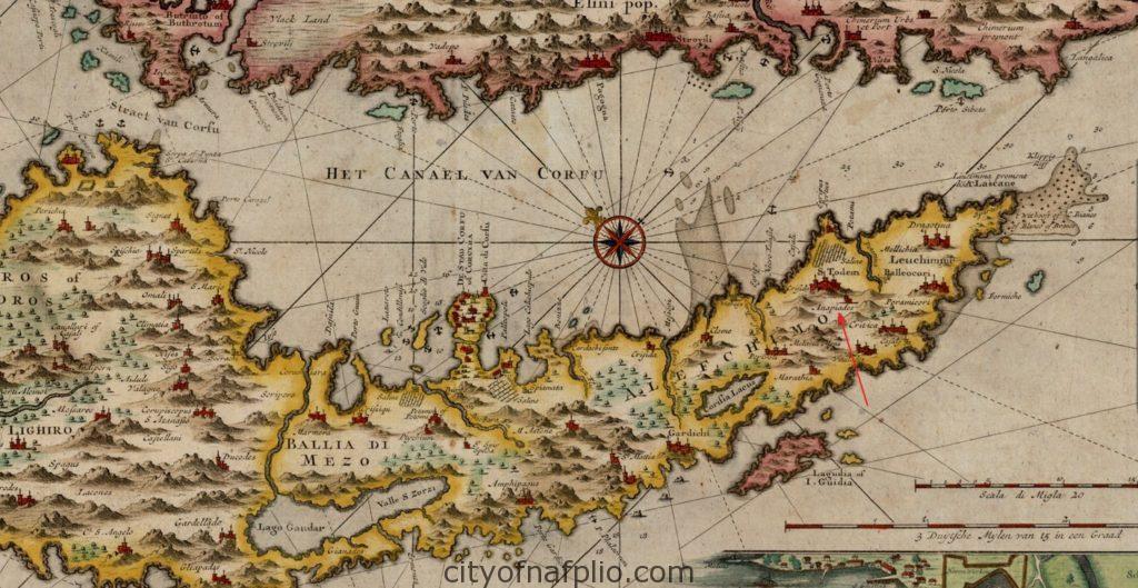 gerard-van-keulen_nieuwe-en-seer-naauwkeurige-kaart-van-t-eylant-corfu-of-corcyra_1730_detail