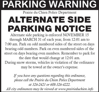 Alternate Side Parking