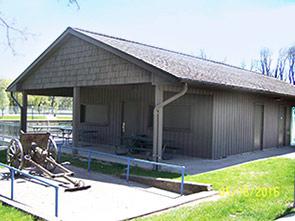 River Park Shelters in Sheboygan Falls