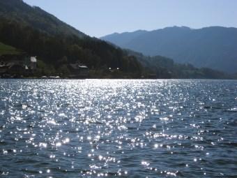 sparkling water of mondsee