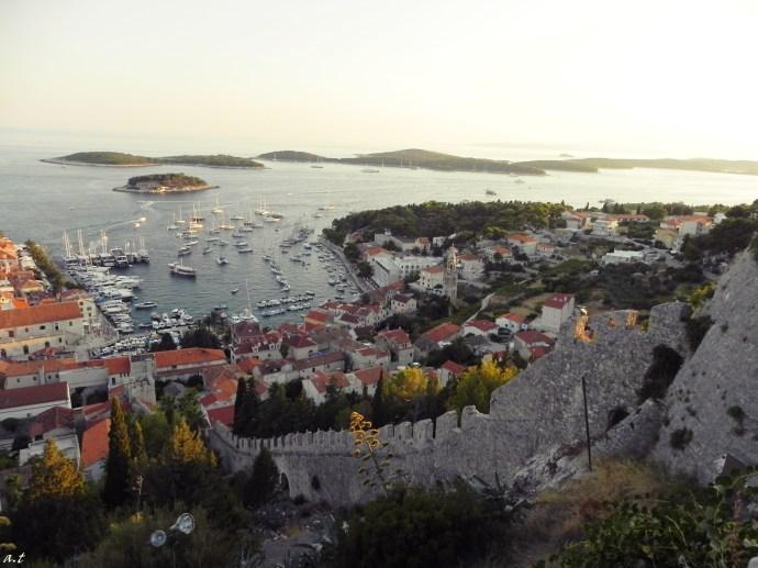 hvar fortress walls