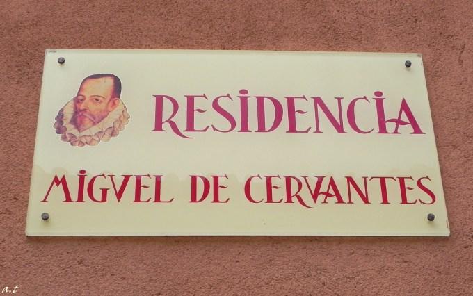 residence of M. de Cervantes