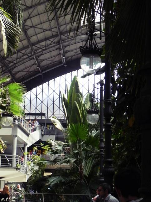 plants in Atocha Metro Station