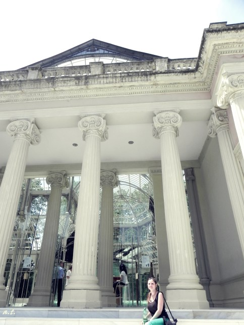 entrance of Palacio de Cristal