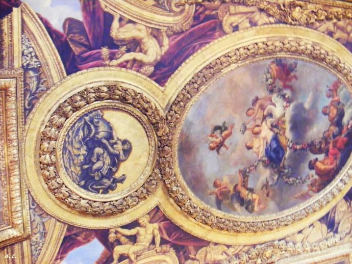 ceiling of Versailles