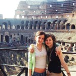 with Timi in the Colosseum