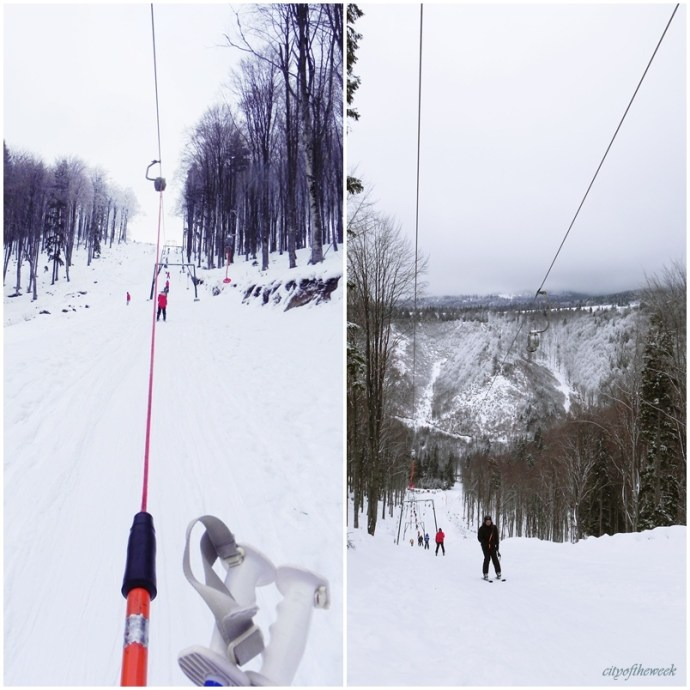 the ski-lift in all its glory..from both sides