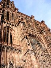 details of Notre Dame de Strasbourg