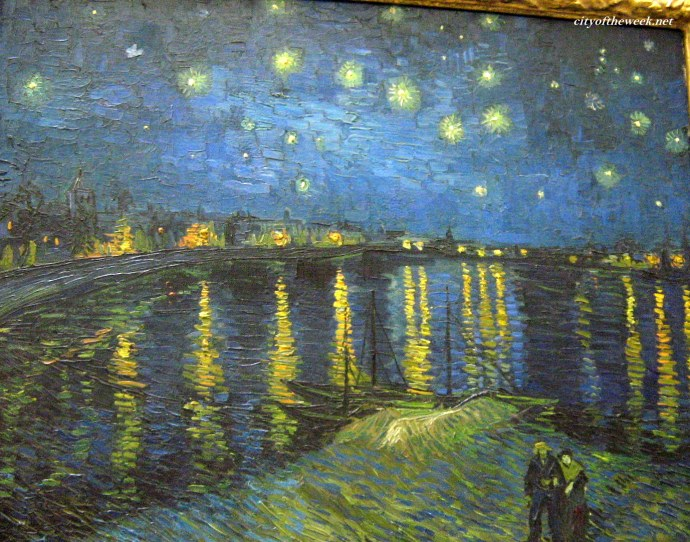 and my ultimate favorite: Vincent van Gogh's Starlight over the Rhone