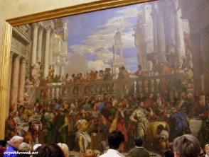 The wedding feast at Cana (by Veronese)