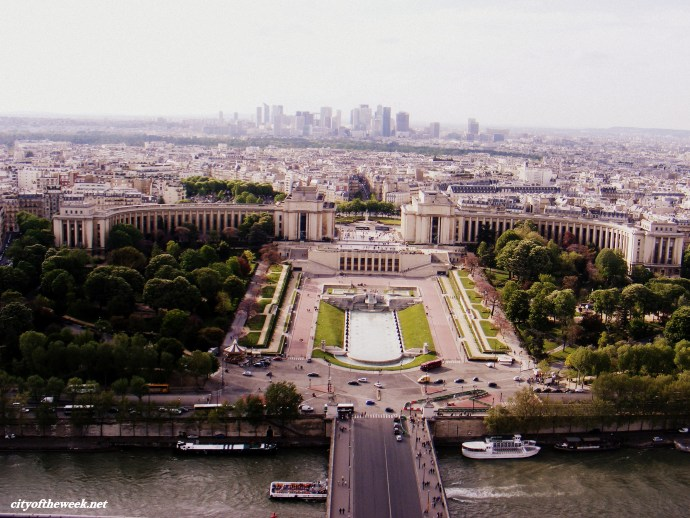 Paris with an astonishing view