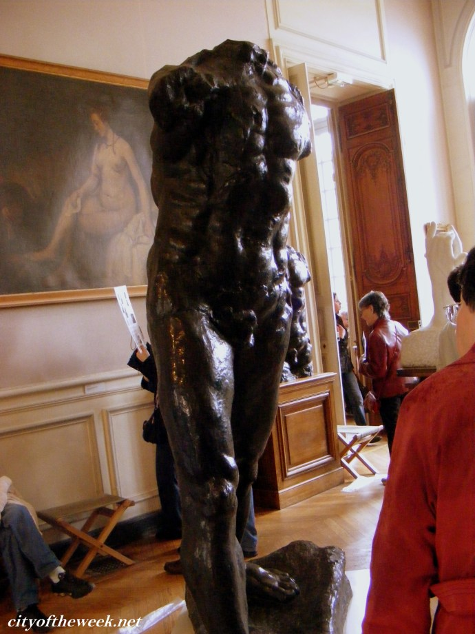 Male figure, A. Rodin