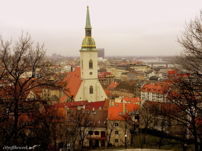 view of the Old Town & the coronation church