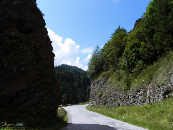 Gorges of Bistrita