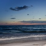 sunset on the beach- image via Flickr by Holmes Palacios
