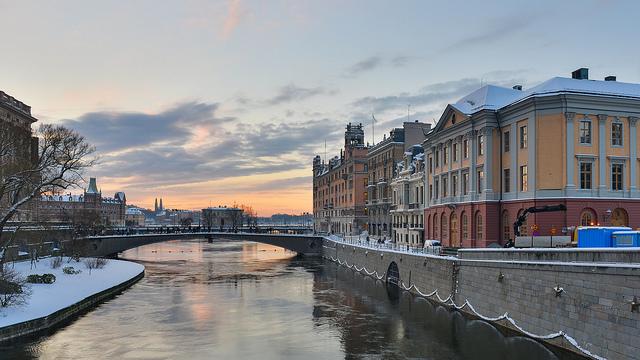 Winter in Stockholm - image via Flickr by Arild