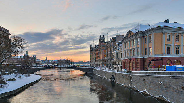 Winter in Stockholm - image via Flickr by Arild