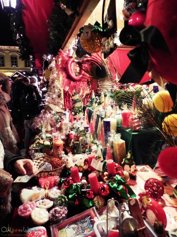 local goodies at the Sibiu Christmas Market