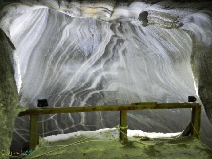 Salt formations - Turda Salt Mine