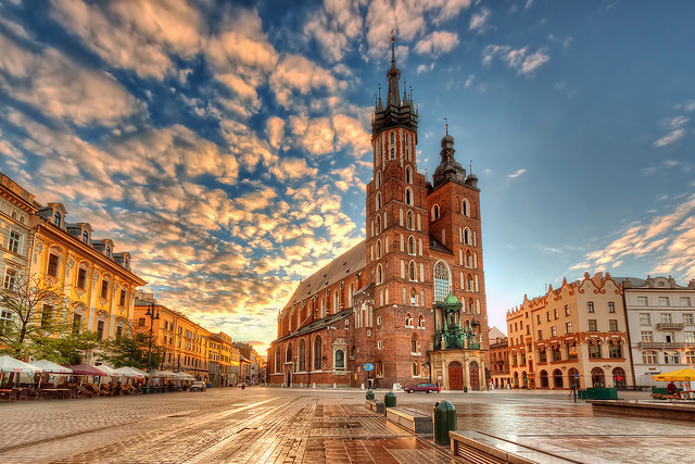 Krakow - image via Flickr by Nico Trinkhaus
