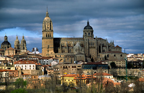 Salamanca - image via Flickr by Laurenz Bobke