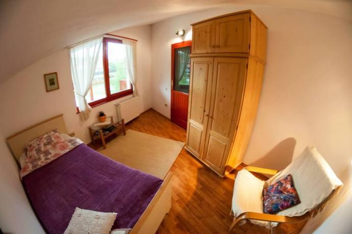 single room at Agape Resort Corunca