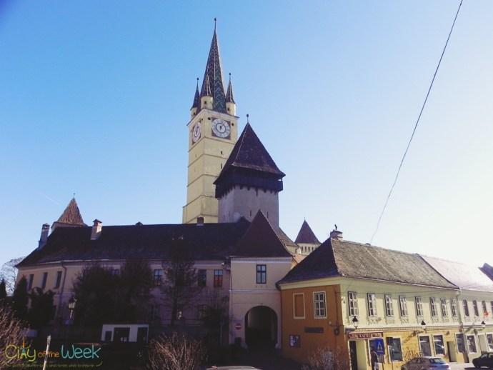 historic center of Medias