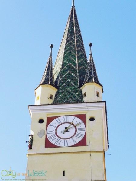 St. Margaret Church Tower of Medias