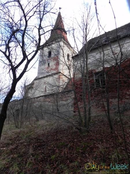 Agarbiciu Church up-close | Fortified Churches