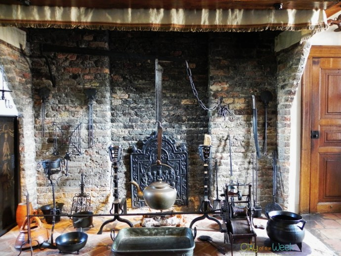 17-th century kitchen