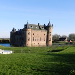 Muiderslot from behind