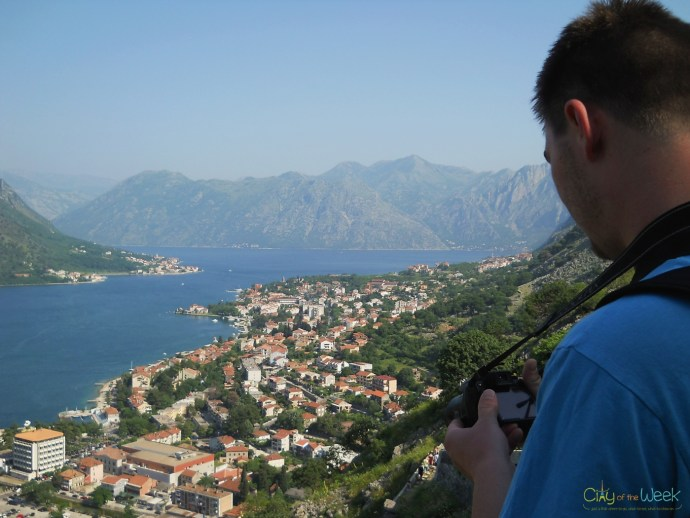 capturing the moment at Kotor Bay