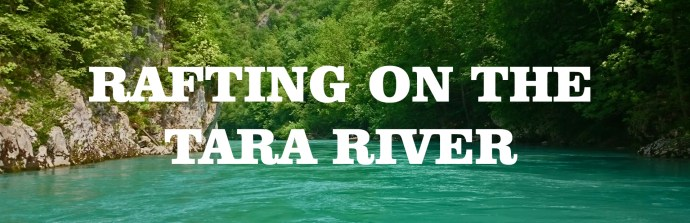 Rafting on the Tara River in Montenegro