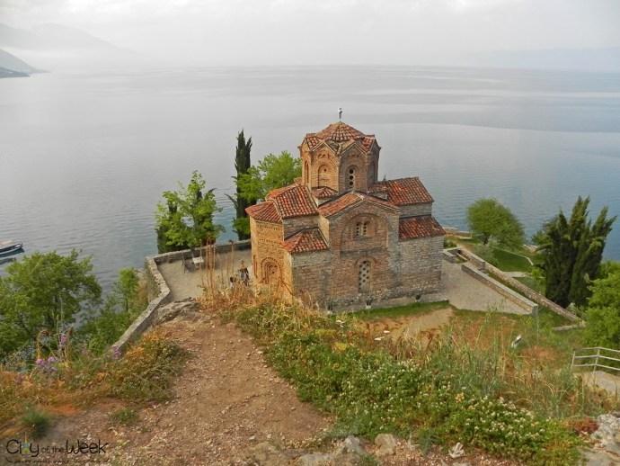 Church of St. John at Kaneo, Ohrid, Macedonia