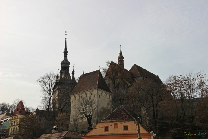 Best View of Sighisoara